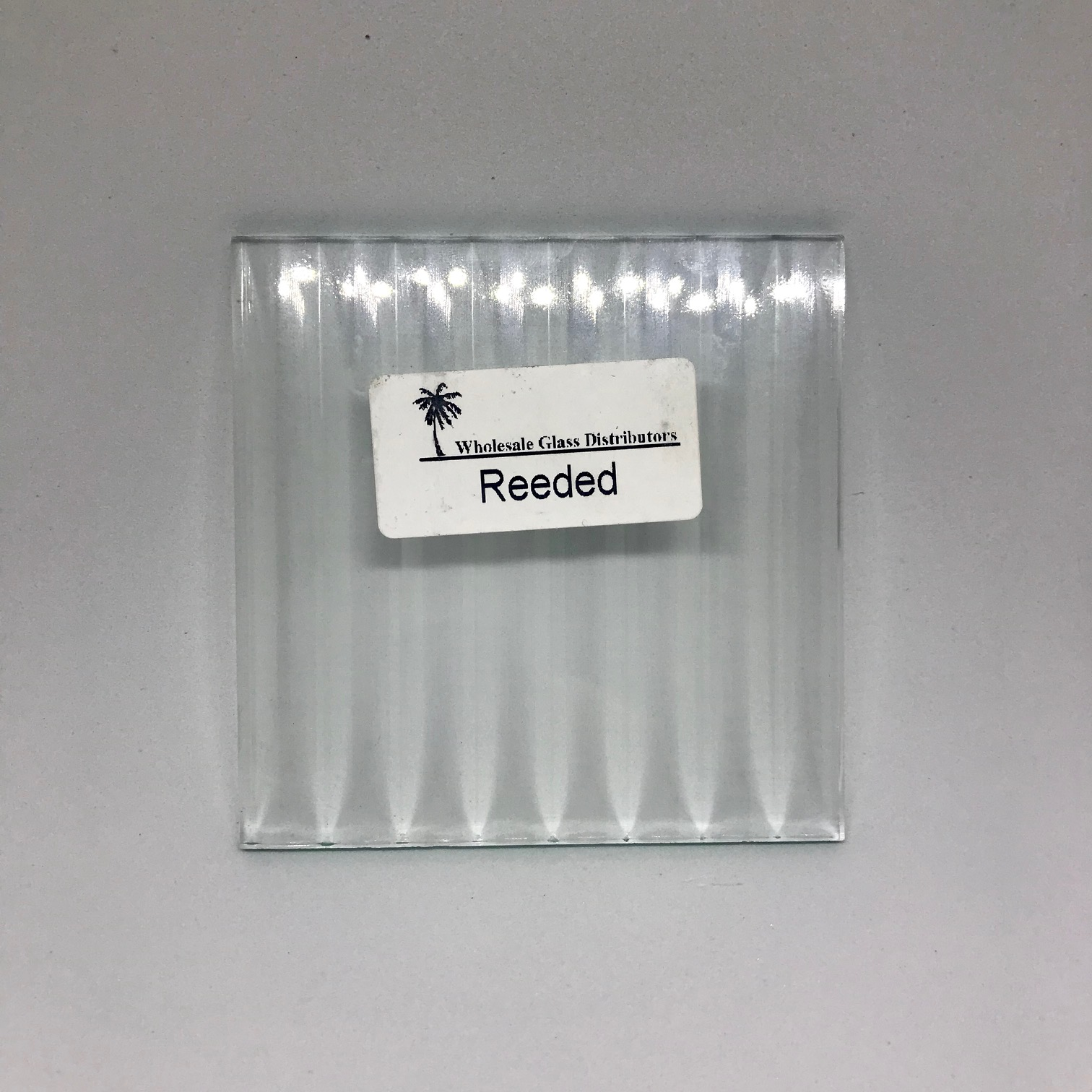 Reeded Glass Sample